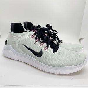 Nike Women's Gray Free RN Flyknit 2018 Shoes 8.5